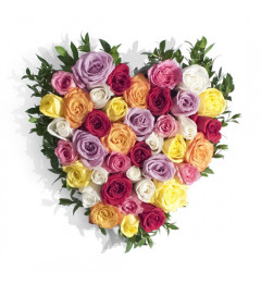 Heart of Roses - Assorted
